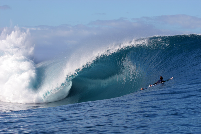 La vague de Teahupoo #2
